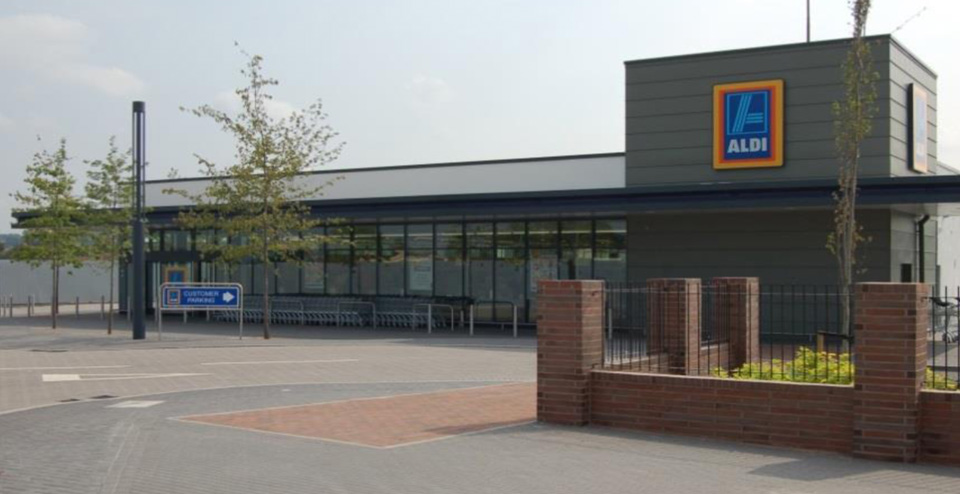 Aldi Wolverhampton G F Tomlinson Group Ltd