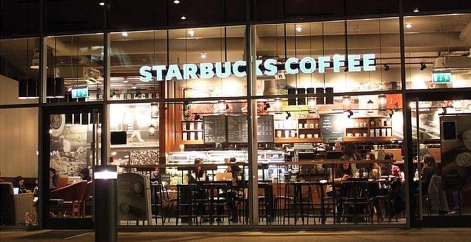 Starbucks Caf 233 University Of Nottingham G F Tomlinson