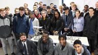 City's major construction schemes host unique student programme