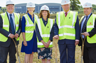 New HQ for Grangers International gets underway at Markham Vale.