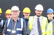 Chesterfield College construction students learn tricks of the trade at Markham Vale