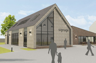 Work in motion on new £1.6 million community building in Skegness bringing new inclusive facilities to the town