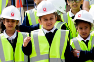 DERBY PUPILS GET A SNEAK PEEK AT THEIR BRAND NEW SCHOOL