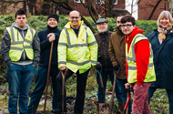 Green-fingered community comes together for 'allotmenteering' project