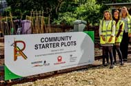 Ready, set, grow – Starter plots for new gardeners created as part of community volunteering project
