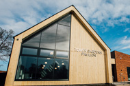 Works complete on the new £1.6million Tower Gardens Pavilion