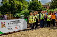 Ready, Set, Grow – Community Volunteering Project Creates New Starter Plots for Local Residents