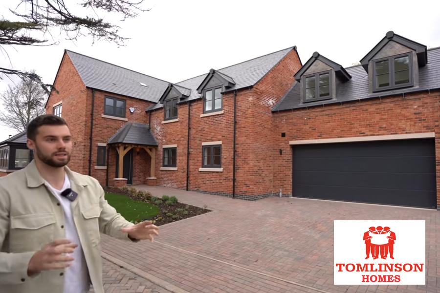 tom homes tour